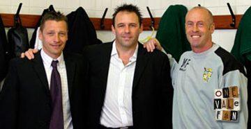 Andy Porter, Andy Jones, Martin Foyle