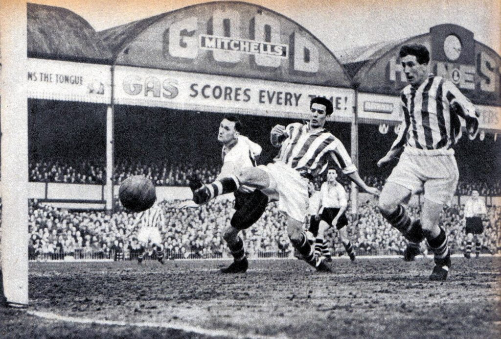 Vale's Tommy Cheadle is powerless to stop West Brom's opener