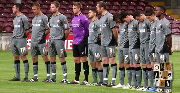The Port Vale squad for the friendly against Galway