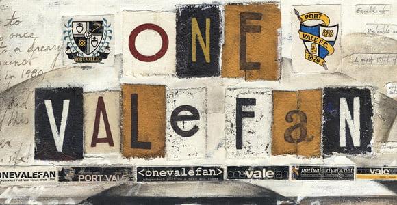 The One Vale Fan OVF logo