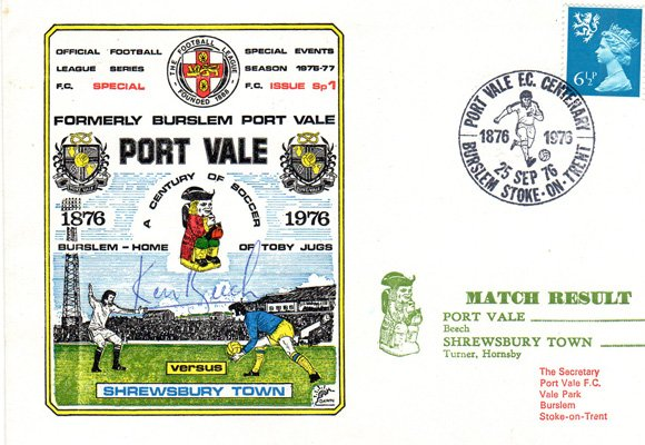 Port Vale first-day covers