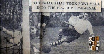 Albert Leake goal against Leyton Orient 1954