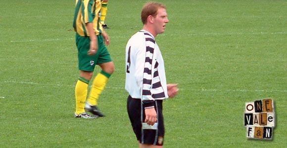 Port Vale striker Steve Brooker