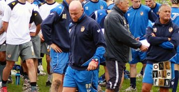 Port Vale coach Rob Page