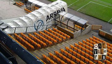 The tunnel, Vale Park stadium