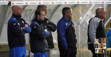The Port Vale bench