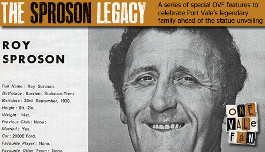 Vintage Roy Sproson interview