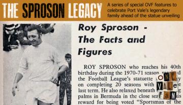 Roy Sproson Legacy