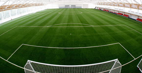 """""""St George's Park - Indoor pitch"""" by Diego Sideburns is licensed under CC BY-NC-ND 2.0"""
