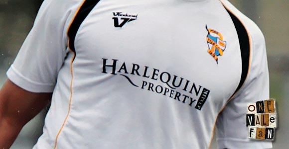 Port Vale sponsor Harlequin Property