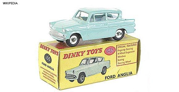 Dinky car toy