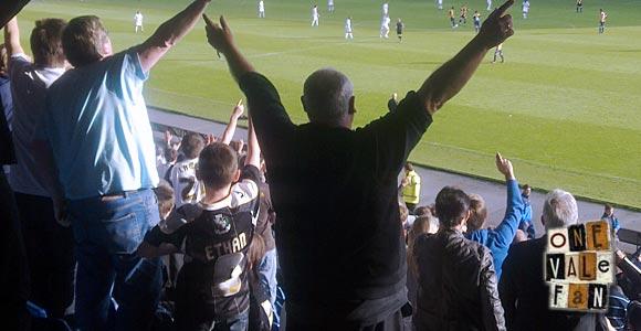 Fans at Oxford v Port Vale 2013