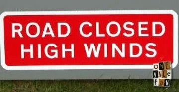 High Winds sign