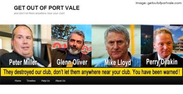 Get Out of Port Vale logo