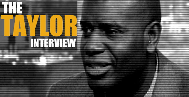 Ian Taylor interview