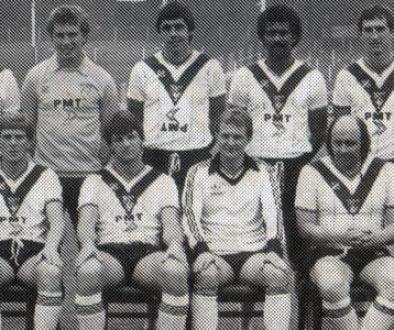 1982 joke Port Vale team line-up