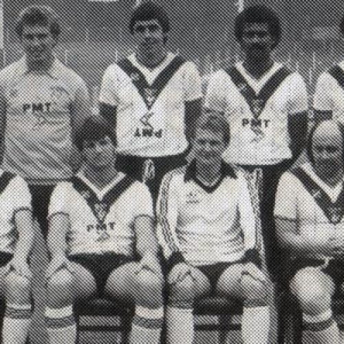 1982 joke Port Vale team line-up