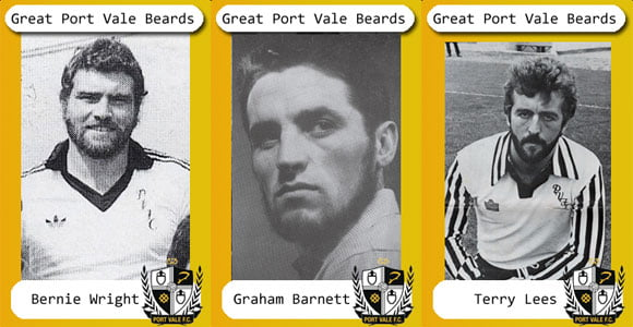The best Port Vale beards – in pictures
