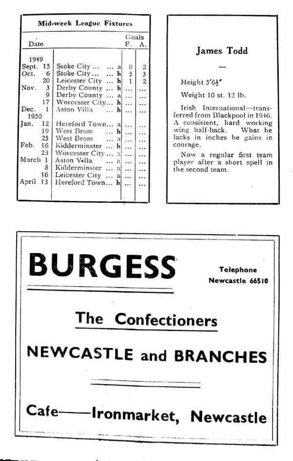 First Vale Park match programme - 5
