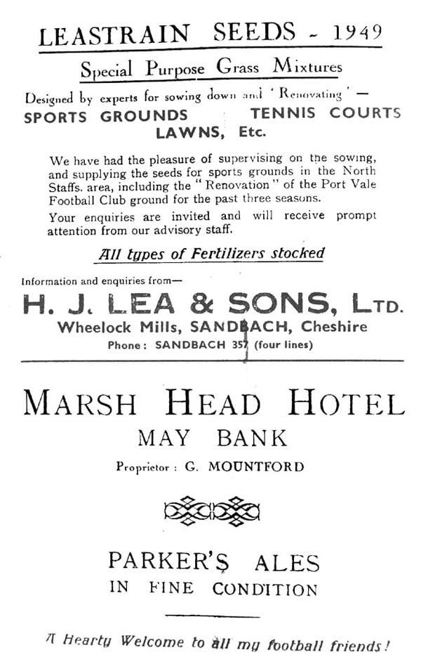 First Vale Park match programme - 6