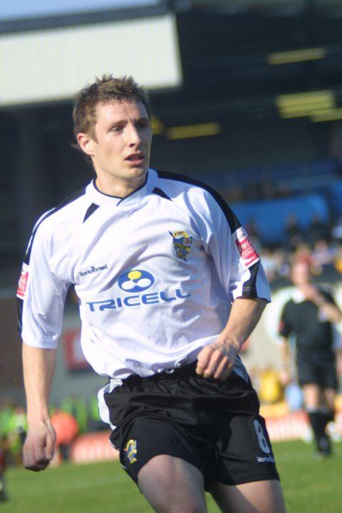 Port Vale midfielder Michael (Micky) Cummins