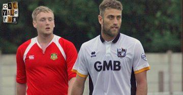 Port Vale striker Ben Williamson - AS Photos
