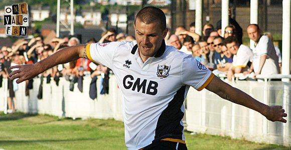 Port Vale defender Carl Dickinson
