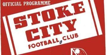 Stoke City v Port Vale programme 1954