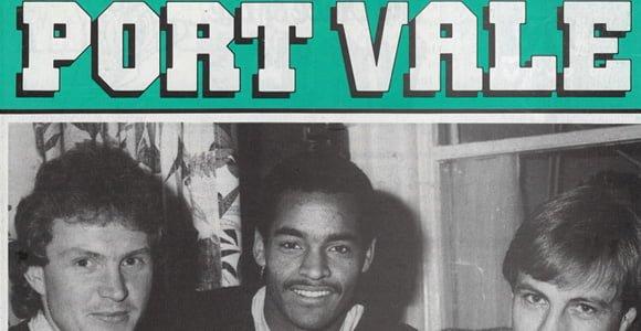 Port Vale v Wimbledon programme 1984