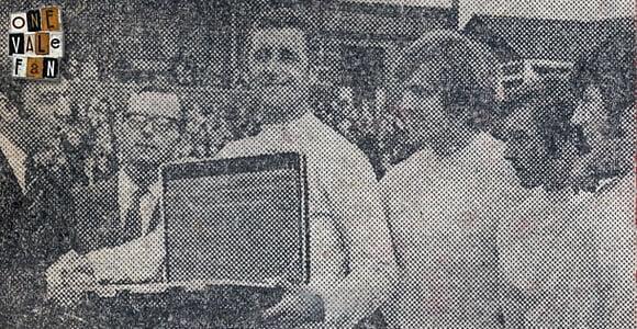 Press clipping - Sportsman award for Roy Sproson