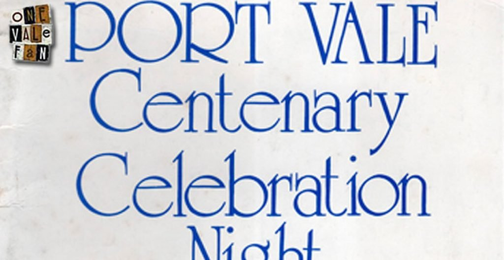 Port Vale centenary night
