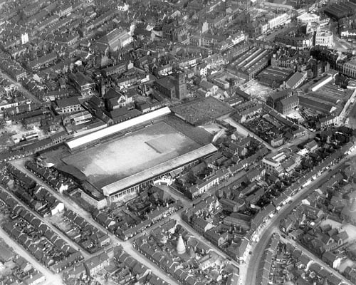 PIC FOR ALL YOUR YESTERDAYS- AERIAL VIEW OF HANLEY IN MAY 1937.