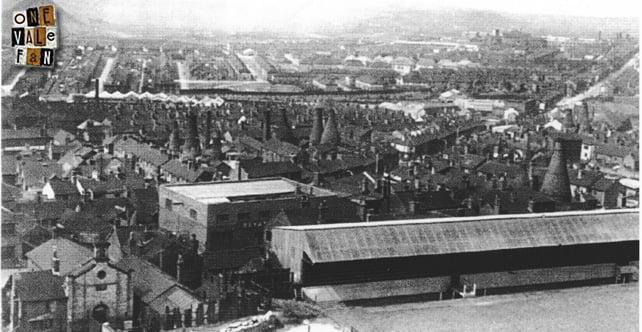 The Old Recreation Ground stadium, Port Vale FC