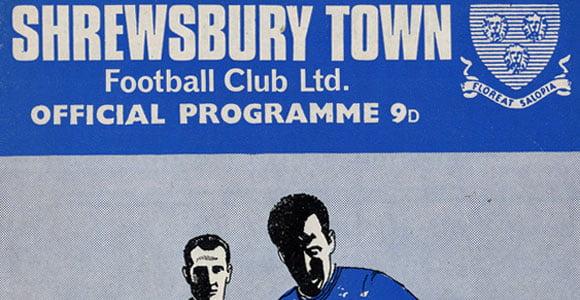 Shrewsbury v Port Vale programme, 1968