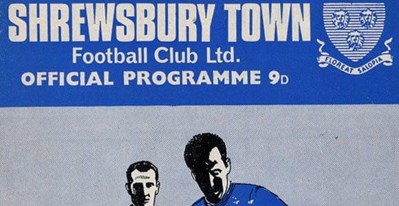 Shrewsbury Town v Port Vale programme, 1968