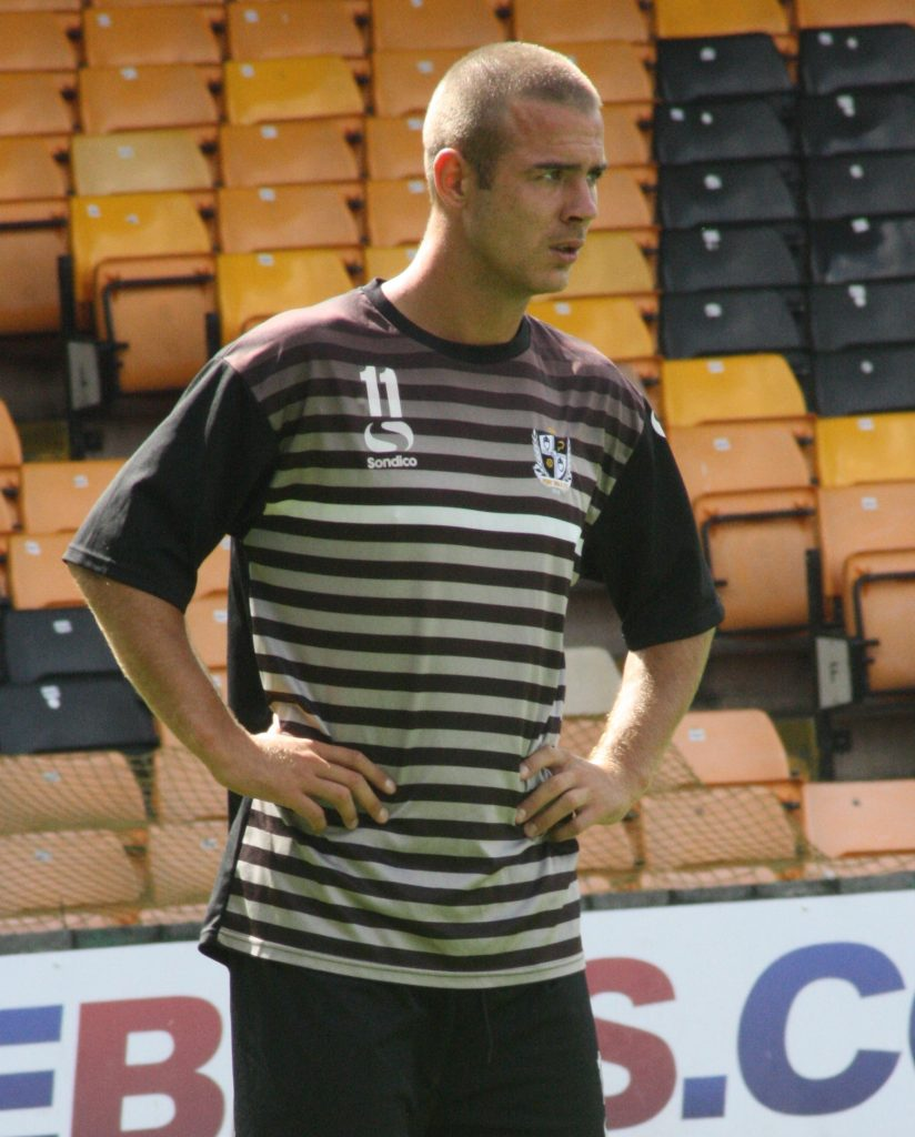 Tom Pope in training 2013