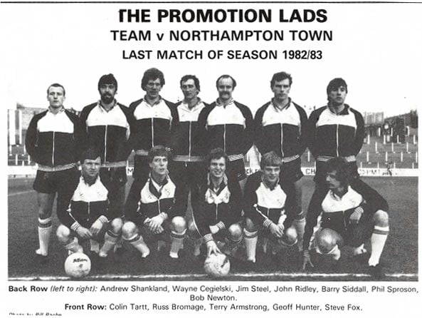 Colin Tartt was part of the 1983 promotion team