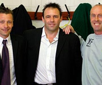 Andy Porter, Andy Jones and Martin Foyle