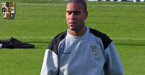 Port Vale striker Leon Constantine
