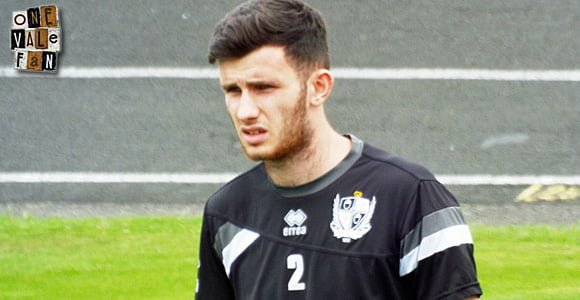 Vale loan out youngster Lewis Bergin