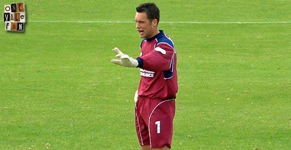 Port Vale goalkeeper Mark Goodlad