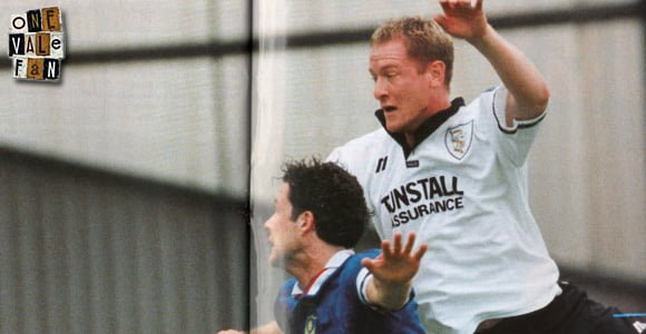Port Vale striker Peter Beadle