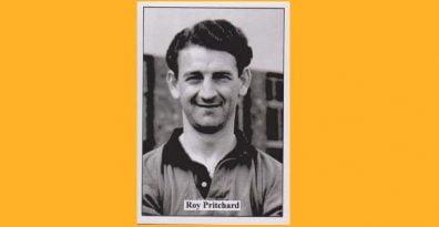 Roy Pritchard - cigarette card, public domain