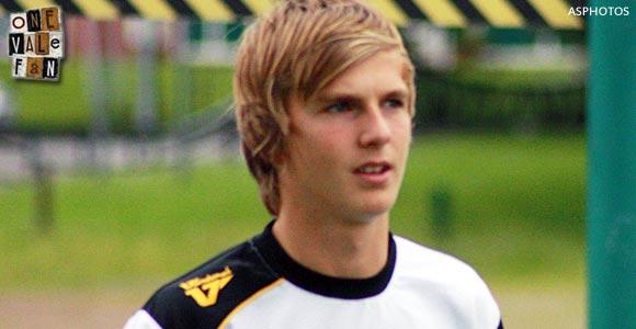 Port Vale midfielder Ryan Lloyd
