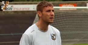 Port Vale midfielder Sam Foley - AS Photos
