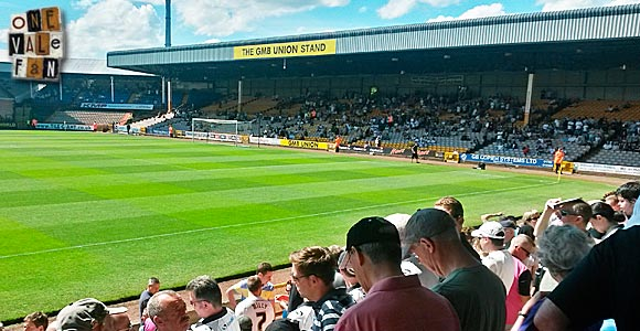 Port Vale announce cut-price Bycars Stand ticket offer