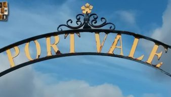 Port Vale sign