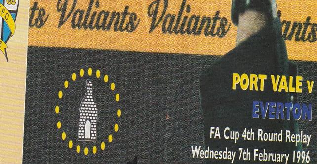Port Vale v Everton, 1996