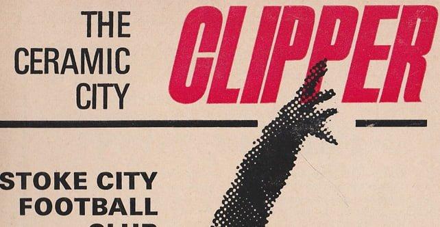 Stoke City v Port Vale programme, 1971
