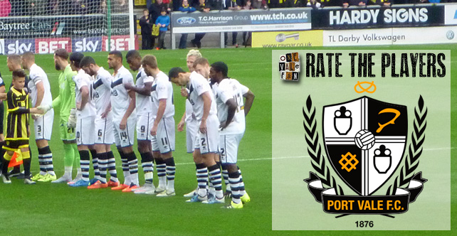 Rate the players: Sheff Utd v Port Vale